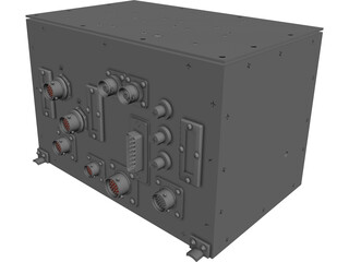 Electronic Box 3D Model 3D Preview