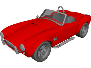 Ford Shelby Cobra 3D Model