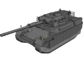 Panther 3D Model