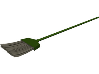 Sweep Broom 3D Model