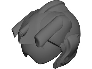 JSF Helmet 3D Model 3D Preview