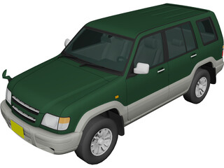 Isuzu Big Horn 3D Model