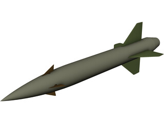 AGM-12 Bullpup Missile 3D Model