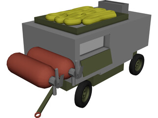 USAF Dash 60 (Power Unit) 3D Model