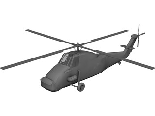 Westland Wessex 3D Model 3D Preview