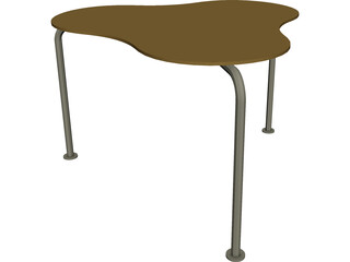 Fellini Table 3D Model