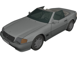 Mercedes-Benz SL 500 (1999) 3D Model