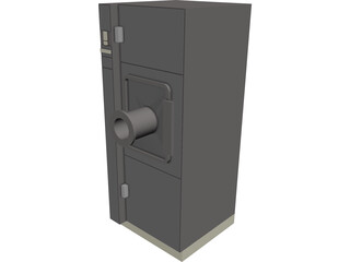 Decontamination Cabinet 3D Model