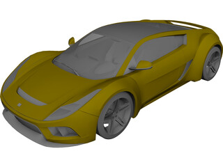 Saleen S5S Raptor 3D Model 3D Preview
