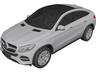 Mercedes-Benz GLE Coupe (2016) 3D Model