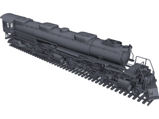 Union Pacific Big Boy CAD 3D Model
