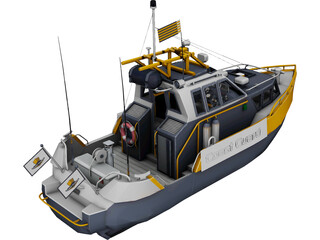 Coast Guard 3D Model 3D Preview
