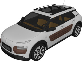 Citroen C4 Cactus (2015) 3D Model