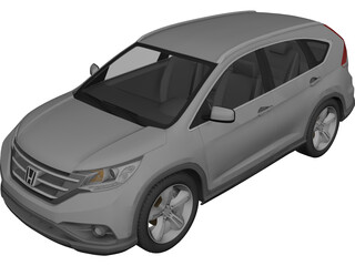 Honda CR-V (2013) 3D Model 3D Preview