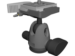 Manfrotto 494 Head CAD 3D Model