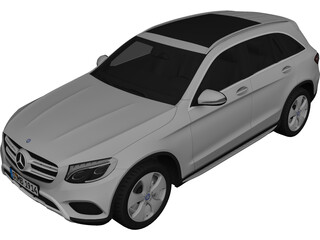Mercedes-Benz GLC 250d (2016) 3D Model
