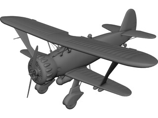Henshel HS-123A 3D Model