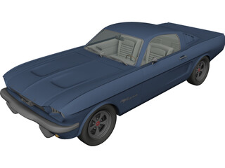 Ford Mustang (1966) 3D Model