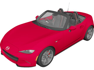 Mazda MX-5 ND (2015) 3D Model 3D Preview