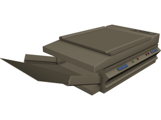 Laser Copy Machine 3D Model