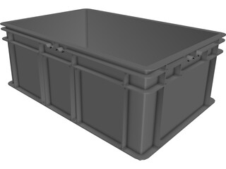 Plastic Box 3D Model