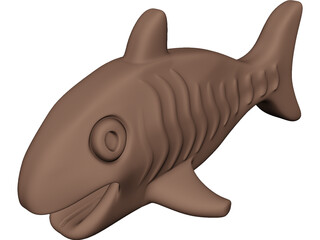Chocolate Fish 3D Model