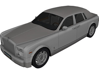 Rolls-Royce Phantom (2003) 3D Model