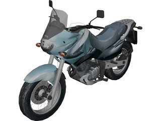 Suzuki Freewind XF650 3D Model