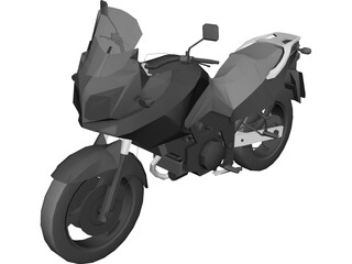 Suzuki V-Strom DL 650 3D Model