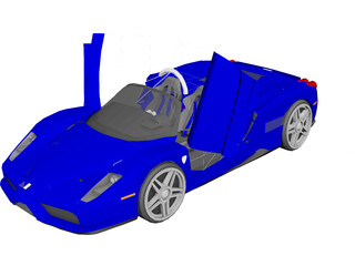 Ferrari Enzo Cabrio [Tuned] 3D Model
