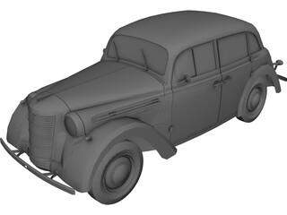 AZLK/Moskvitsch 400 3D Model
