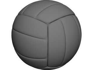 Volleyball 3D Model 3D Preview