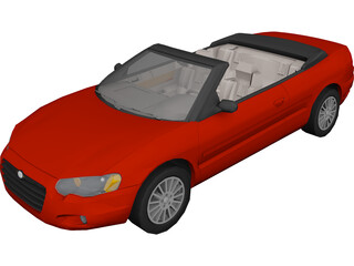 Chrysler Sebring Convertible 3D Model