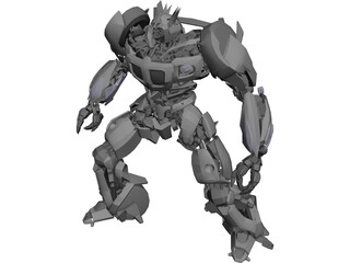 Transformers Movie Jazz 3D Model