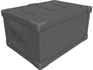 Travel Chest 3D Model