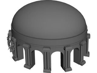 Ancient Dome 3D Model