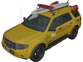 Ford Lifeguard Explorer 3D Model