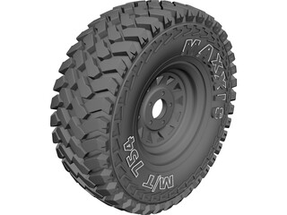 Maxxis Offroad Tire 3D Model