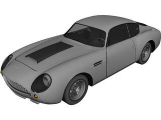 Aston Martin DB4 GT Zagato (1960) 3D Model