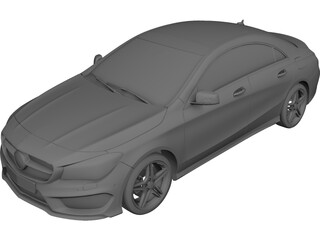 Mercedes-Benz CLA (2015) 3D Model