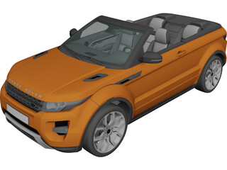 Land Rover Evoque Cabriolet 3D Model