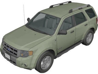 Ford Escape Hybrid 3D Model