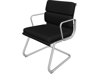 Business Class Chair 3D Model