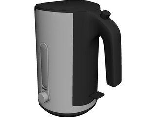 Teapot Philips HD 4631 3D Model