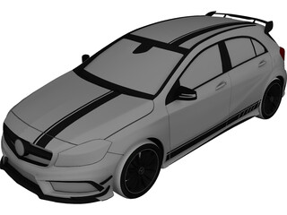 Mercedes-Benz A45 AMG Edition 1 3D Model