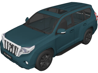 Toyota Land Cruiser Prado (2016) 3D Model