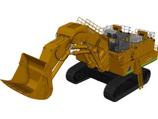 Hitachi EX5500 3D Model