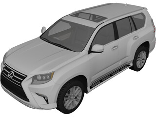 Lexus GX460 (2015) 3D Model 3D Preview