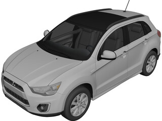 Mitsubish Outlander Sport (2013) 3D Model