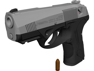 Beretta Px4 Storm 3D Model 3D Preview